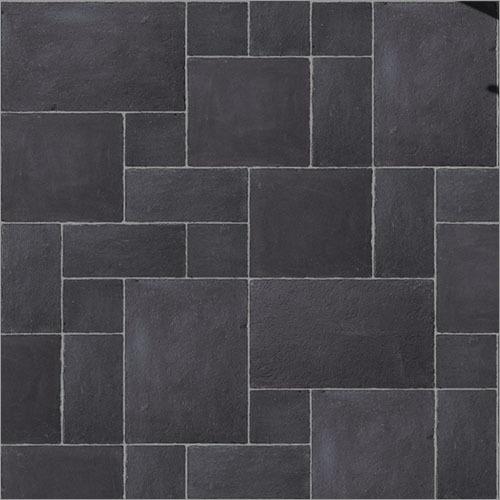 Kota Black Limestone Tile