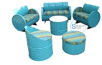 Drum outdoor furniture