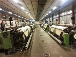USED SULZER  P7100 153a   PROJECTILE LOOMS