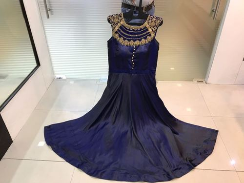 Designer Silk Salwar Suit