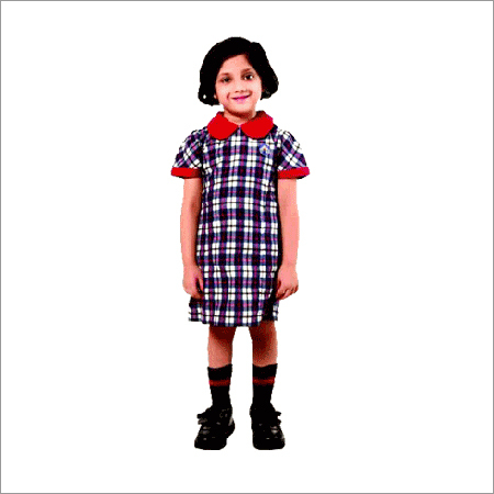 Girls School Frock (Std - 1st & 2nd)