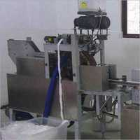 Semi Auto Cotton Swab Machine