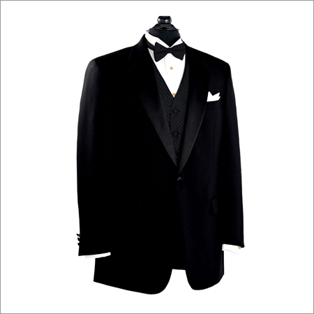 Black Formal Fitted Blazer