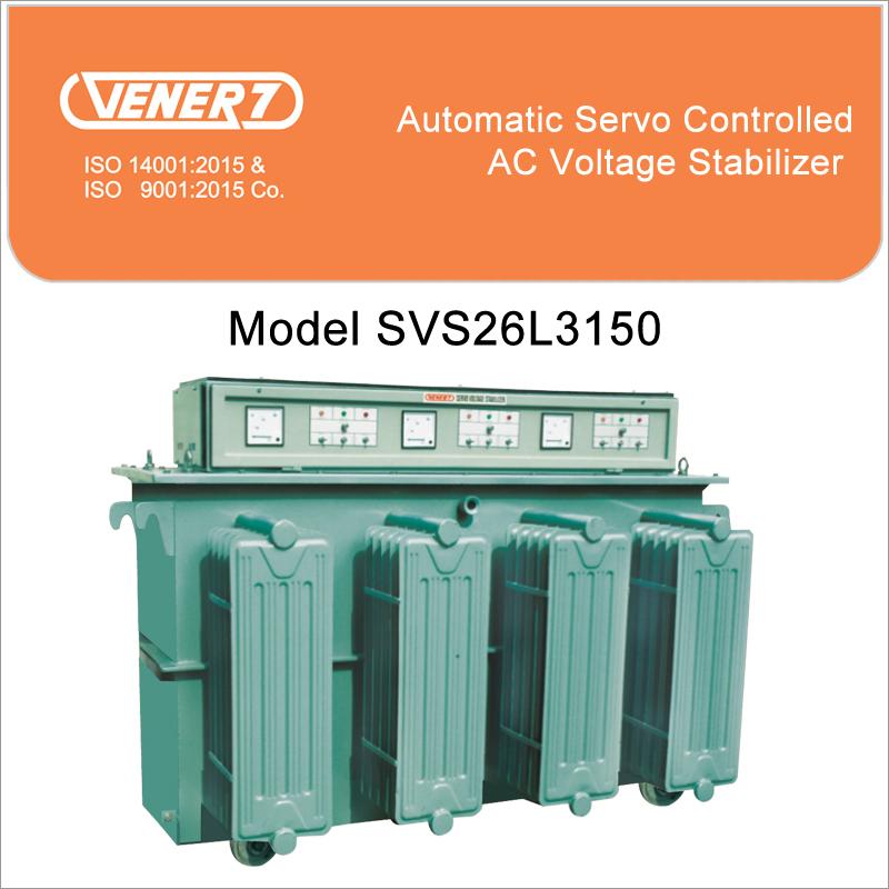 150kVA Oil Cooled Voltage Stabilizer