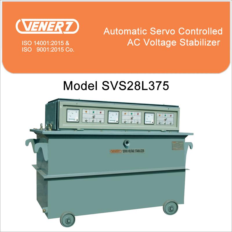 75kVA  Oil Cooled Voltage Stabilizer