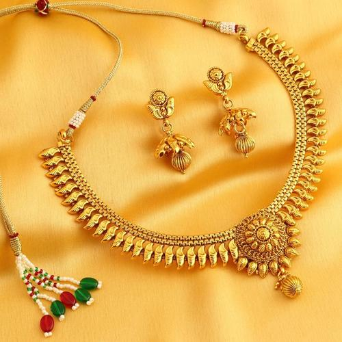 set plating earring dangling necklace party p elegant crystal gold goods