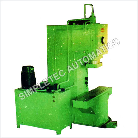 C Frame Hydraulic Press - C Frame Hydraulic Press Exporter ...