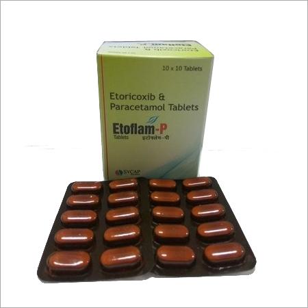 Etoricoxib Paracetamol tablet