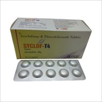 Aceclofenac and Thiocolchicoside Tablet