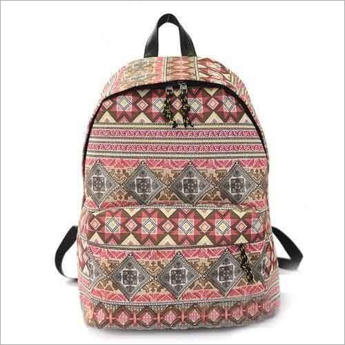 Multicolor School Bag
