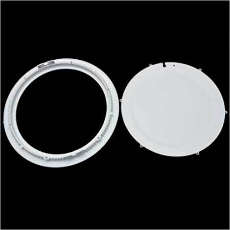 LED Slim Panel Housing Round 12w