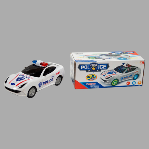 Kids Plastic Police Car