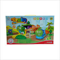 Kids Plastic Battery Operated Train