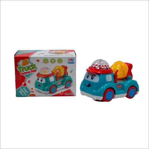 Kids Plastic Cartoon Truck