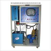 Plc Based Rotary Bottle Filling Plant