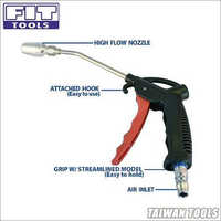 Air Duster Blow Gun w/ Small High Flow Nozzle