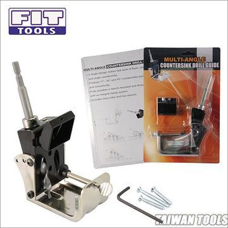 Portable 3 Angle Countersink Drill Guide Tool