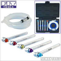 8,9,10,11,12 mm Brake Bleeder Wrench with Check Valve Kit