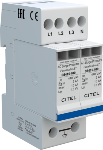 AC surge protector DS415