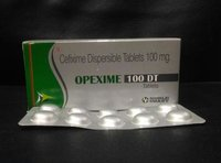 CEFIXIME 100 MG. DISPERSIBLE TABLETS