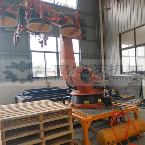 Robot Pallet Nailing Machine