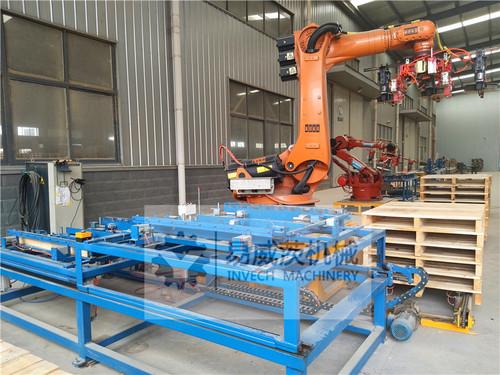 Robot Wood Pallet Nailing System