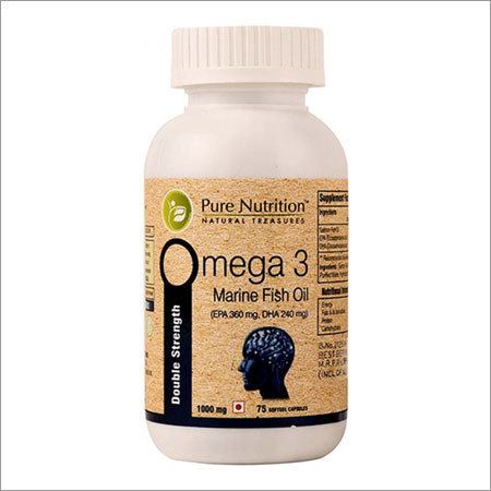 Omega 3 (Double Strength) Helps In Increasing Heart Health Protection