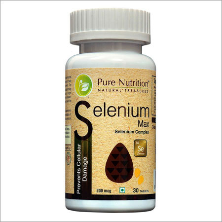 Selenium Max (Prevents Cellular Damage)