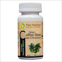 Green Coffee Bean with Chromium - Natural Supplement for Weightloss