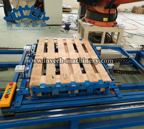 Robot Wooden Pallets Nailer Machine