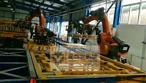 Robot Pallet Assembly Machine