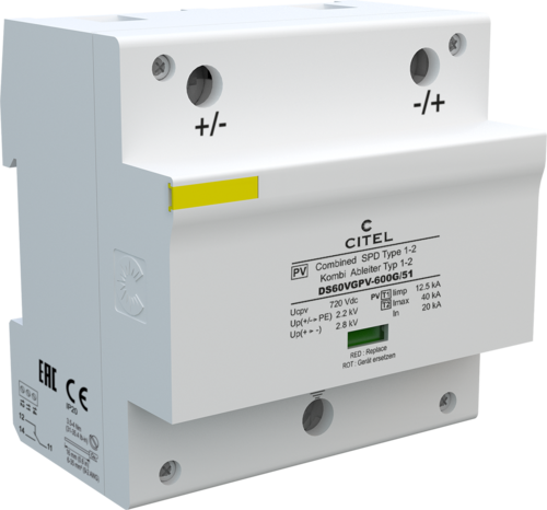 Type 1 PV surge protector