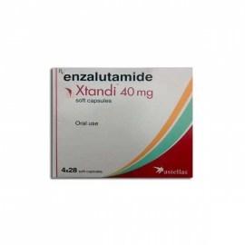 Astellas Enzalutamide Xtandi 40mg Capsules
