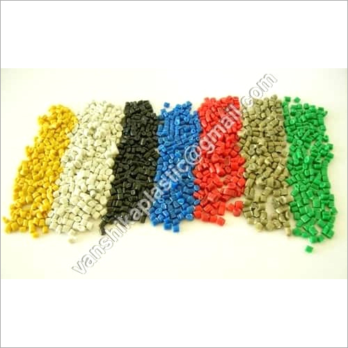 Coloured LLDPE Plastic Granules