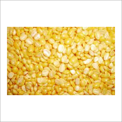 Macro Peeled Split Mung Bean