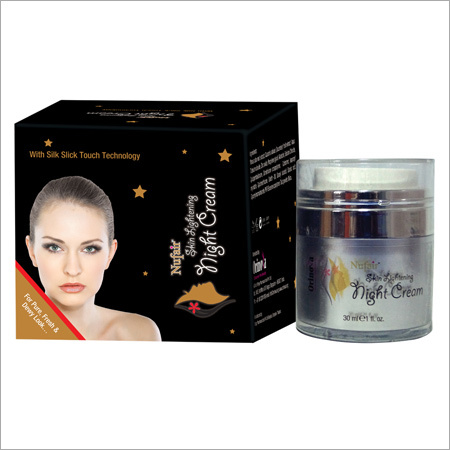 Nufair Skin Lightening Night Cream