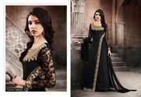 Fancy Designer Floor Length Suit Online