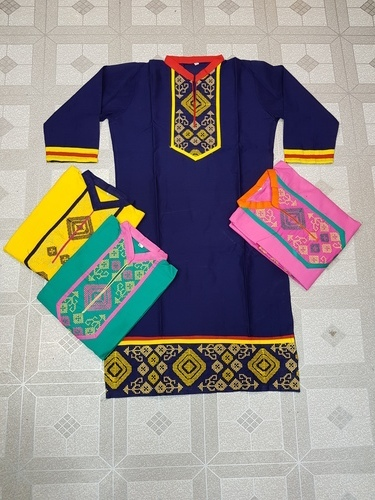 Ladies Cotton Embroidery Kurtis
