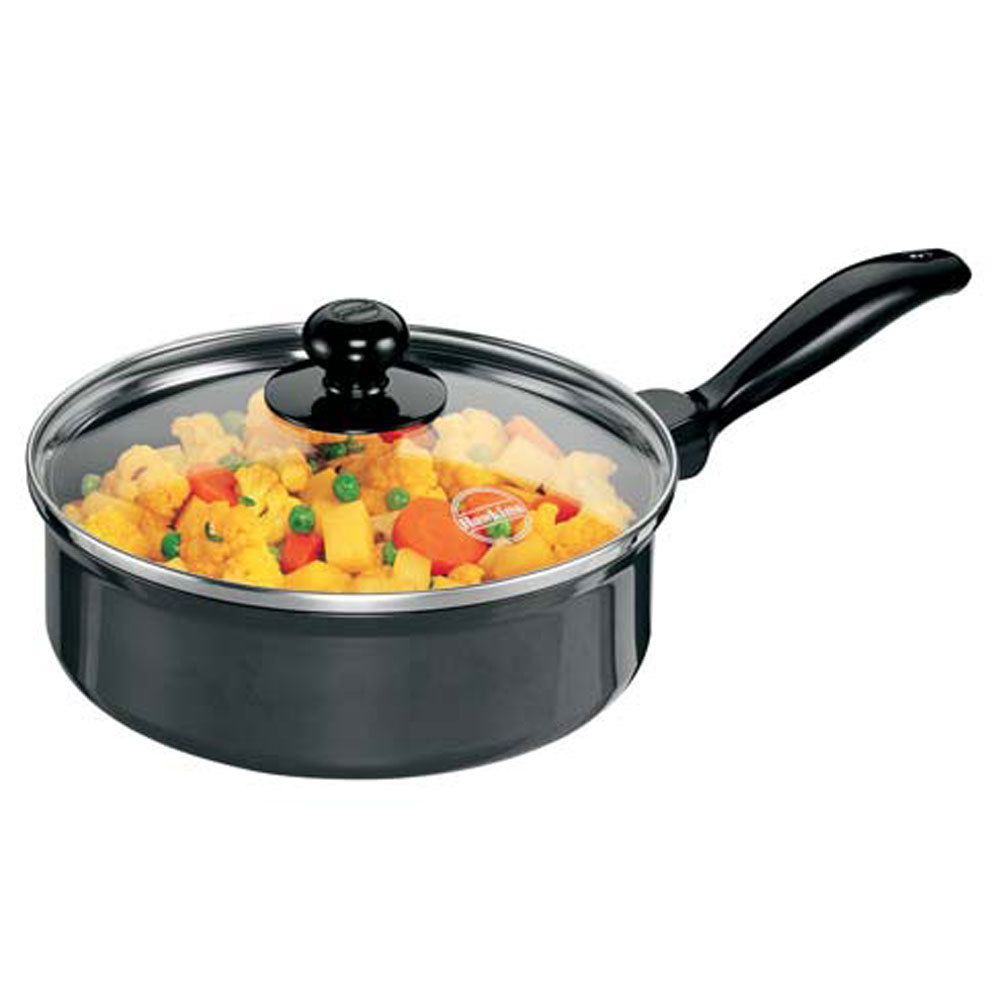 Nonstick Curry Pans (Saute Pans) With Glass Lid