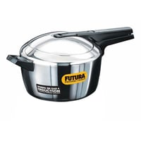 5.5 Ltr Stainless Steel Induction Compatible Futura Pressure Cooker