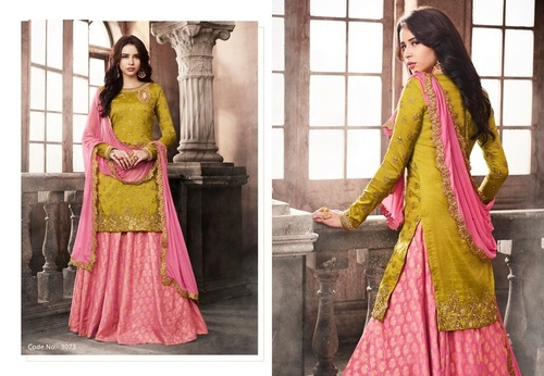 Heavy Bridal Two Style Salwar Suit Online