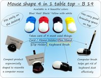 MOUSE SHAPE 4 IN 1 TABLE TOP