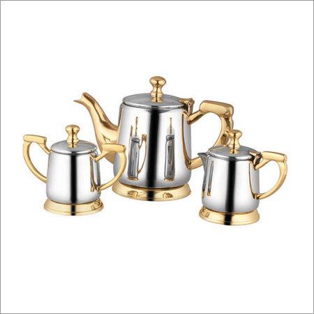 Brass Steel Kettle Set