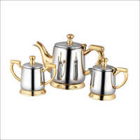 Brass Steel Kettle Set