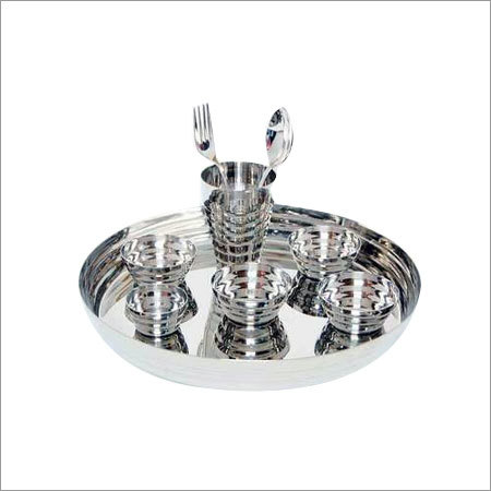 Steel Thali Set