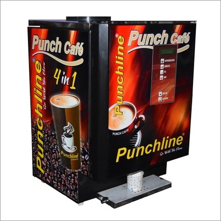 Instant Tea Soup Vending Machine