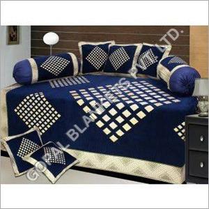 Velvet Diwan Bed Sheet