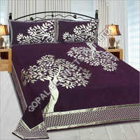 Chenille Double Bed - Bed Sheet