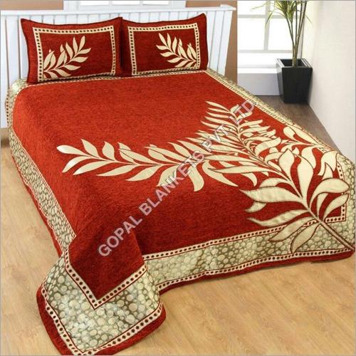 Heavy Chenille Double Bedsheet