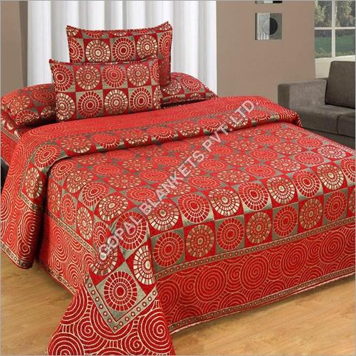 Chenille Designer Double Bed Sheet